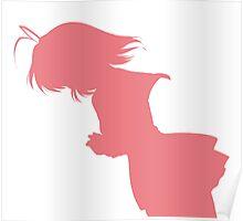 Nagisa Winter Uniform Pink - Clannad Poster
