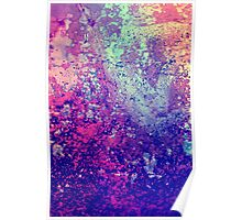 Abstract Speckles Poster