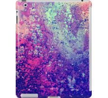Abstract Speckles iPad Case/Skin