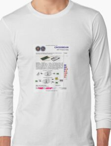 "NSA Spy brochure ""Crossbeam"" T-Shirt"