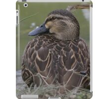 SITTING DUCK iPad Case/Skin