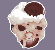 Doll faced dearies, Coco cookies n cream Kids Tee