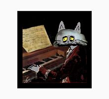Catzart Plays The Piano Unisex T-Shirt