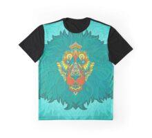 - Turquoise lion - Graphic T-Shirt
