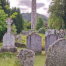 Round Tower at Glendalough by TonyCrehan