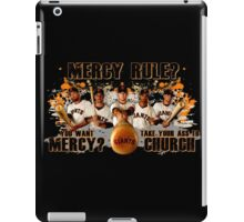 Giants Mercy Rule (Dark) iPad Case/Skin