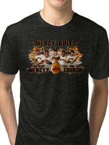 Giants Mercy Rule (Dark) Tri-blend T-Shirt