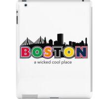 Wicked Boston iPad Case/Skin