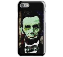 Abraham Lincoln - Zombie iPhone Case/Skin