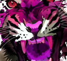 Tiger Roar (Pink) Sticker
