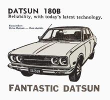 Fantastic Datsun 180B One Piece - Long Sleeve