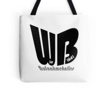 WB - Wie Blöd -Aufnahmehallen Tote Bag