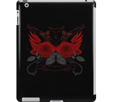 Guns and Roses RED 2 iPad Case/Skin