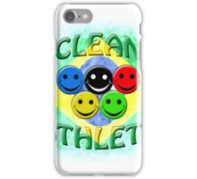 clean athlete Brazil iPhone Case/Skin