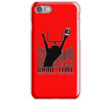 Game Time - Football (Red) iPhone Case/Skin