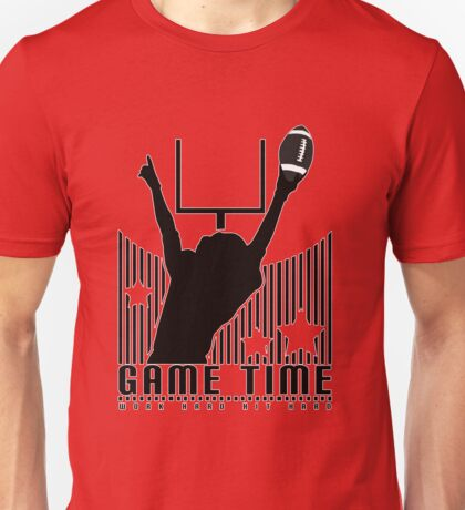 Game Time - Football (Red) Unisex T-Shirt