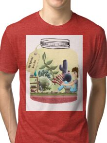 My World In A Jar Tri-blend T-Shirt