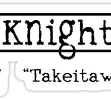 The Knight Bus Sticker