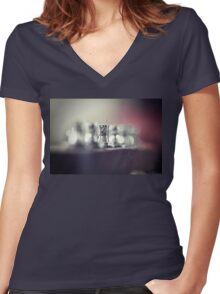 Tension Women's Fitted V-Neck T-Shirt