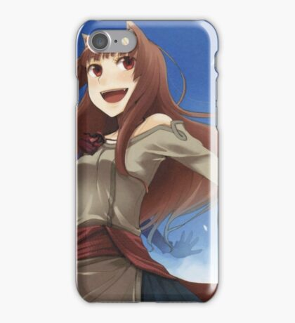 Holo The Wisewolf iPhone Case/Skin