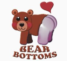 love bear bottoms by gruntpig