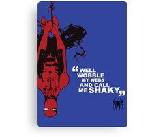 Spider-Man Poster Canvas Print