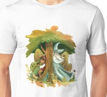 Bilbo Baggins and Gandalf Unisex T-Shirt