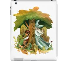 Bilbo Baggins and Gandalf iPad Case/Skin