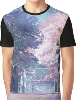 5 Centimeters Per Second Scenery Graphic T-Shirt