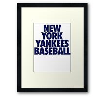 NYYBC Framed Print