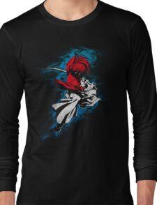 battousai grunge Long Sleeve T-Shirt