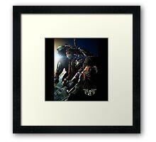 TMNT 2 the movie Framed Print