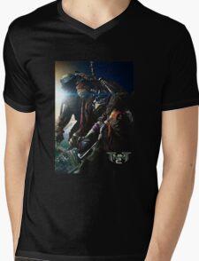 TMNT 2 the movie Mens V-Neck T-Shirt