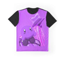 Grape Kirby Graphic T-Shirt