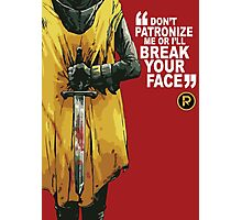 Damian Wayne Robin Poster Photographic Print