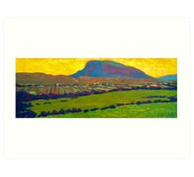 Muckish from Falcarragh Art Print