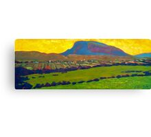 Muckish from Falcarragh Canvas Print