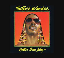 STEVIE WONDER - HOTTER THAN JULY ALBUM Unisex T-Shirt