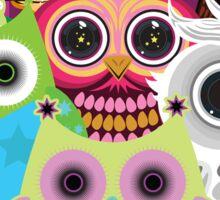 Love Owls 1 (black) Sticker