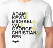 Batman actors shirt & more Unisex T-Shirt
