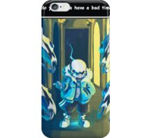 Sans iPhone Case/Skin