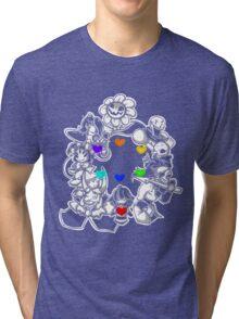 Undertale v2 Tri-blend T-Shirt