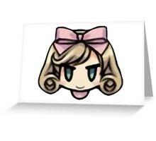 Haruka - Single Greeting Card