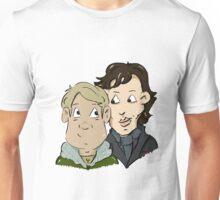 sherlock Holmes and John Watson Unisex T-Shirt
