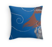 Feyre | A Court of Mist and Fury Cover Throw Pillow
