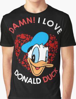 Donald Duck Love Graphic T-Shirt