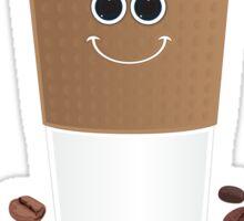 Happy Coffee Sticker
