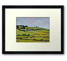 Ruined House, Ireland Framed Print