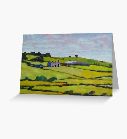 Ruined House, Ireland Greeting Card