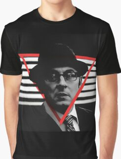 POI NOIR Harold Finch Graphic T-Shirt